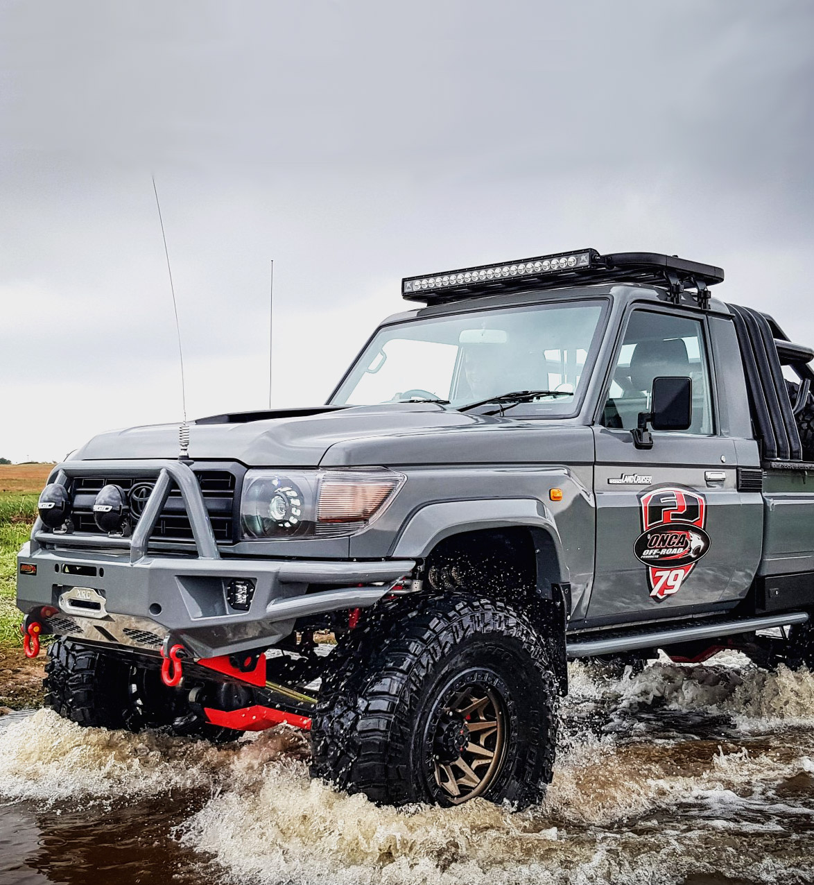 Onca Off Road Bull Bars Tow Bars Rock Sliders Products South Africa Manufacturers Of Heavy Duty 4x4 Equipment