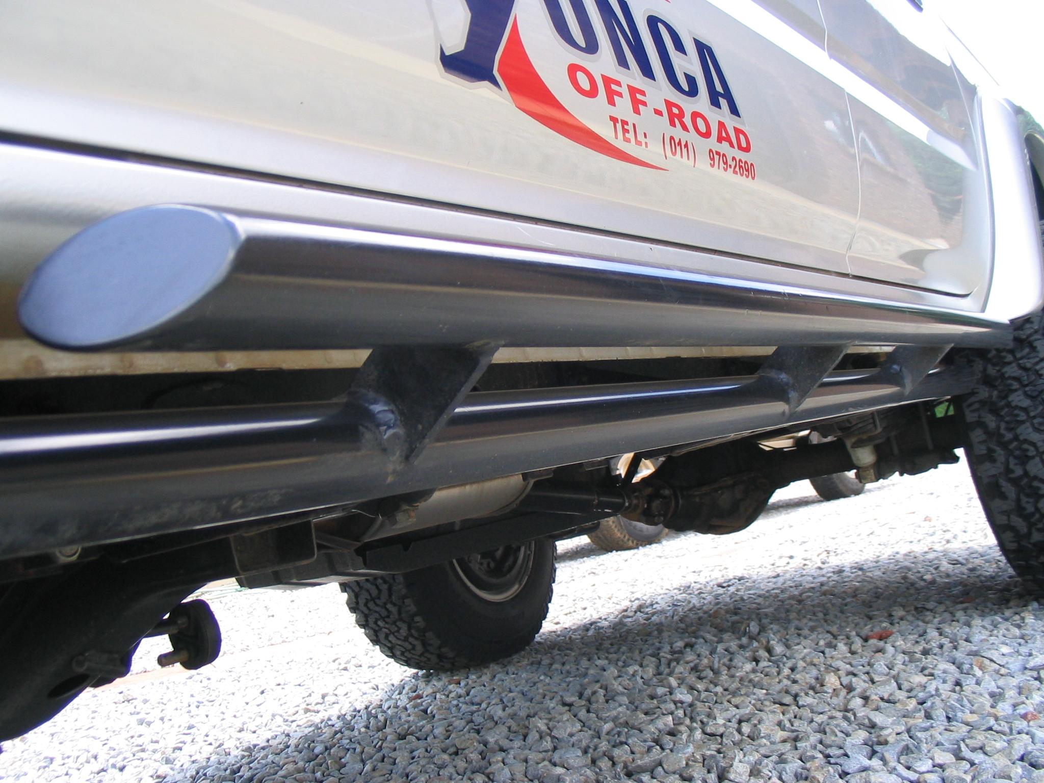 4x4 Off Road Jeep >> ROCK SLIDERS (STD COLOUR BLACK) - ONCA Off-road